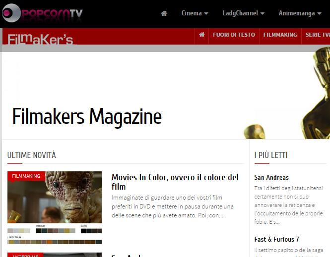 Filmakers Magazine   Filmakers by PopcornTV